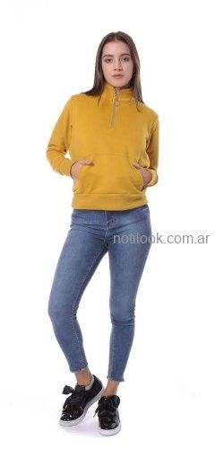 buzo polar mujer vov jeans invierno 2019