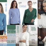 buzos clasicos y modernos tejidos señoras Vanlon invierno 2019