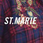 camisa escocesa bordada mujer St marie invierno 2019