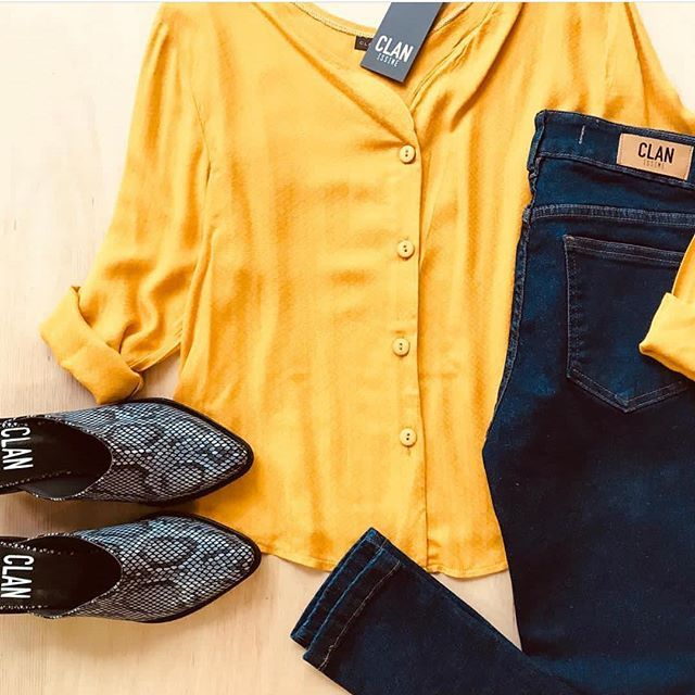camisa para mujer con jeans Clan issime invierno 2019