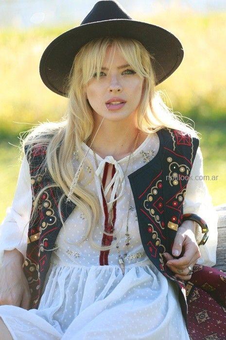 camisola estilo bohemia Vars otoño invierno 2019