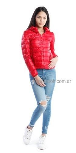 campera inflable vov jeans invierno 2019