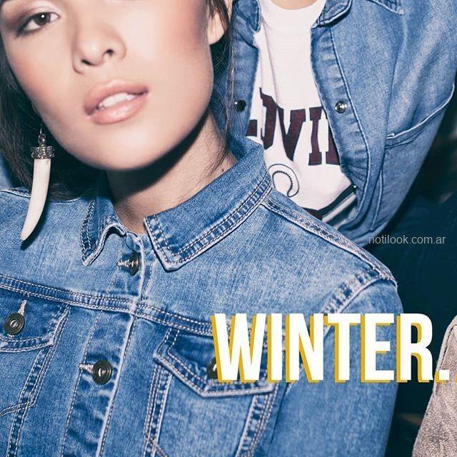 campera jeans juvenil scombro jeans invierno 2019