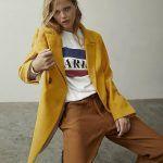 look urbano con blazer maiz mujer inedita invierno 2019