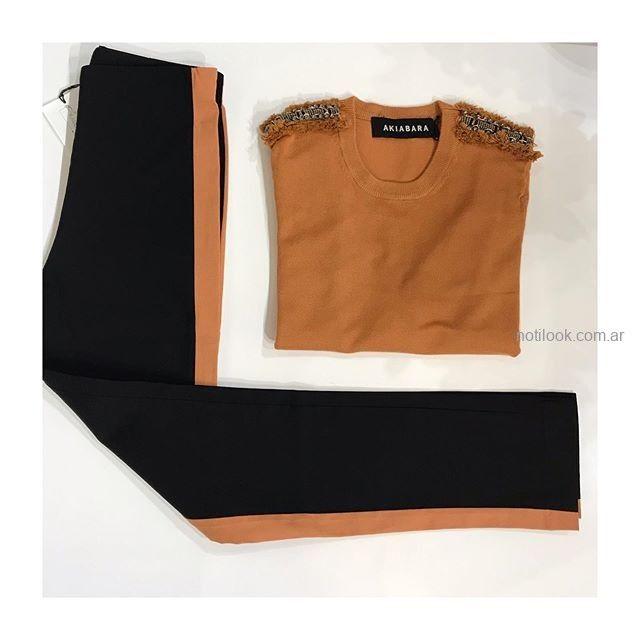 pantalon de vestir chupin Coleccion Akiabara invierno 2019