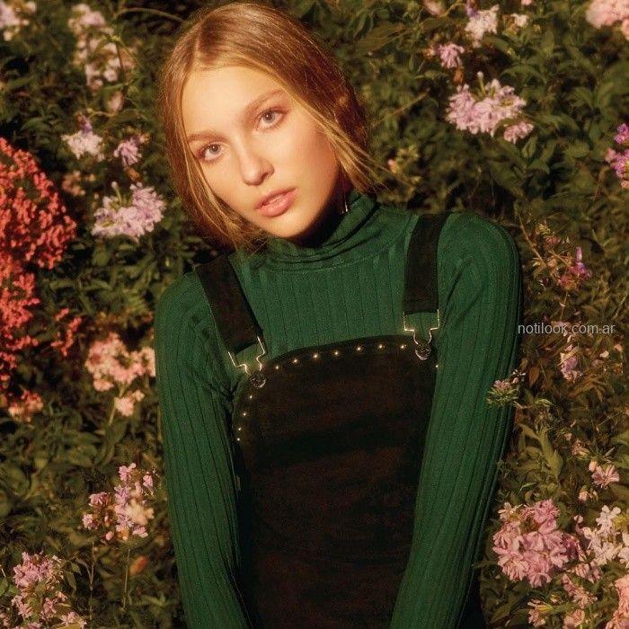 polera morley con jumper negro Coleccion Akiabara invierno 2019