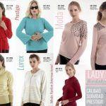 sweater con apliques y bordados Vanlon invierno 2019