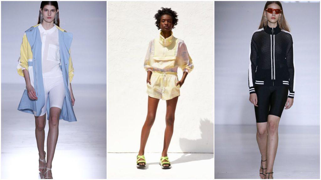 Looks deportivos con calzas ciclista Moda para mujer verano 2020 Argentina
