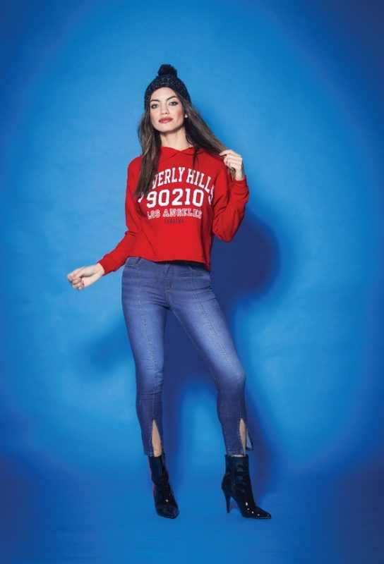 Tabatha Jeans con tajo invierno 2019