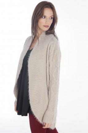 abrigos en lana para mujer nuss Tejidos invierno 2019