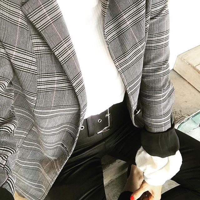 blazer estampado mujer Pura pampa invierno 2019