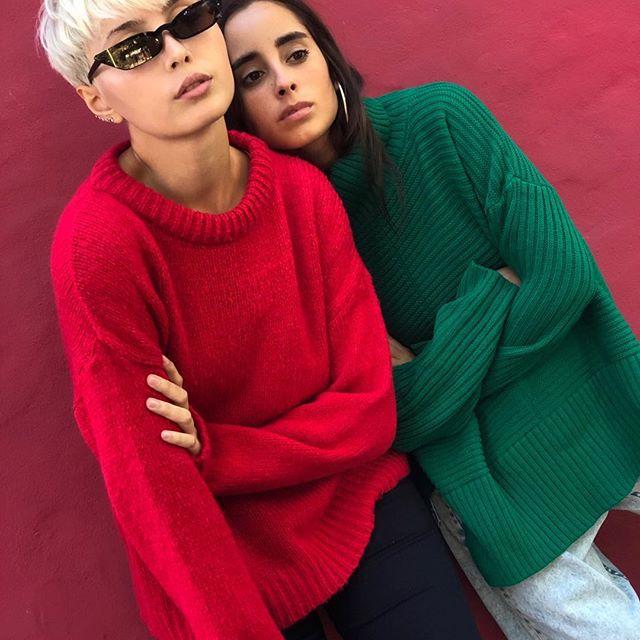buzo lana juvenil Sofia Caputo invierno 2019