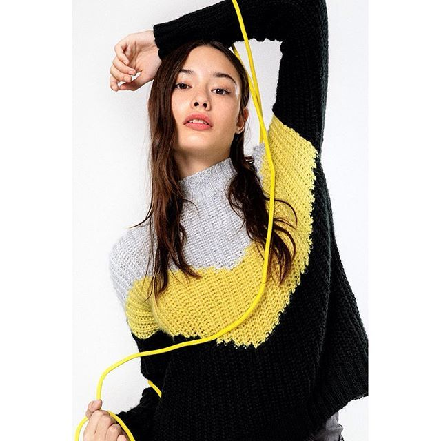buzo lana mujer juvenil Rie otoño invierno 2019