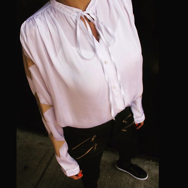 camisa blanca mujer Pura pampa invierno 2019