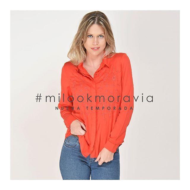 camisas casual para señoras Moravia Jeans invierno 2019
