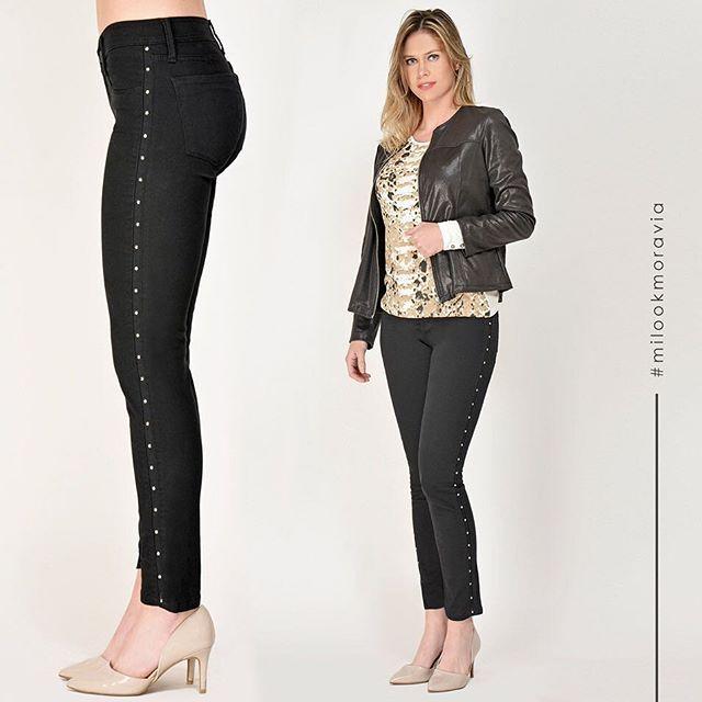 chupin con tachas Moravia Jeans invierno 2019