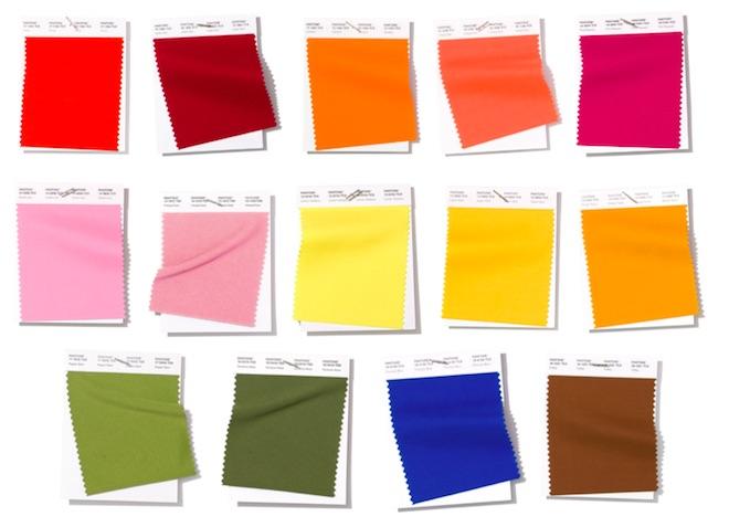 colores de moda primavera verano 2020 Pantone