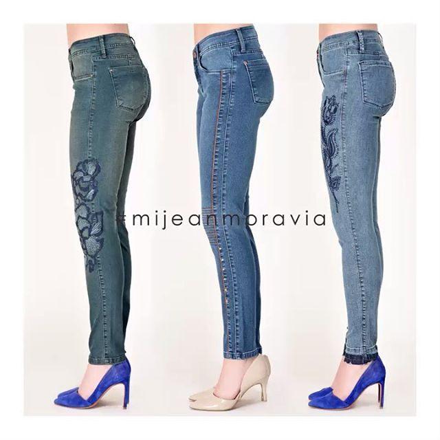 jeans bordados Moravia Jeans invierno 2019