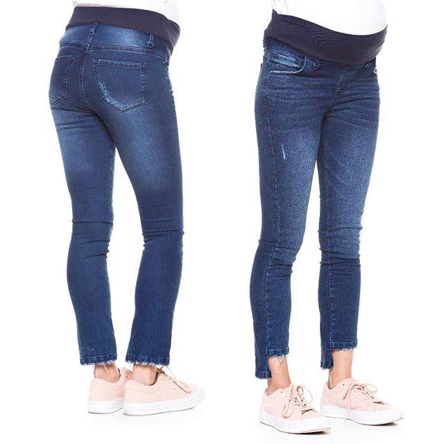 jeans pretina elastica para embarazadas venga madre invierno 2019
