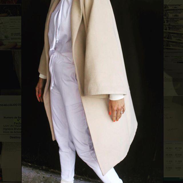 kimono de lana Pura pampa invierno 2019
