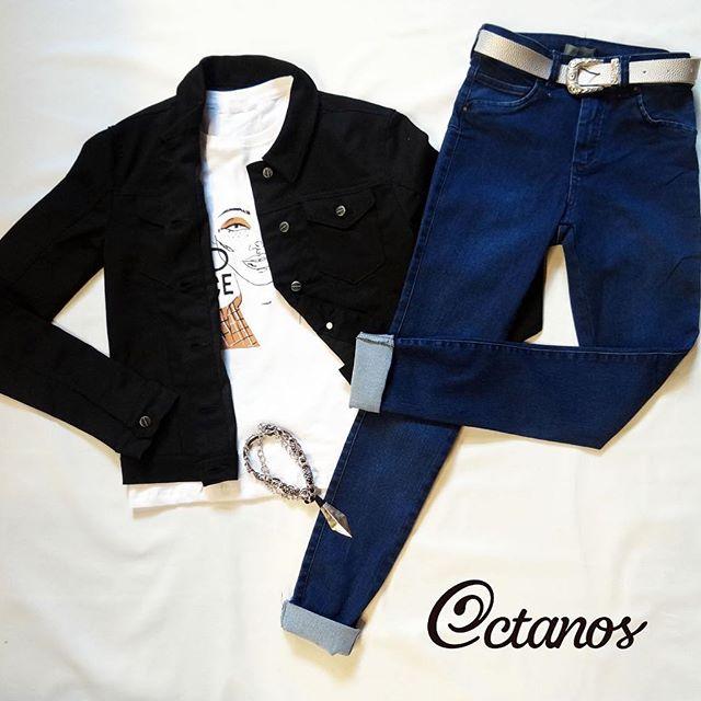 look informal con Octanos Jeans mujer invierno 2019