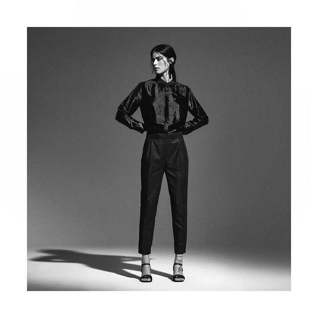 pantalones y camisas de seda para mujer Giesso mujer invierno 2019