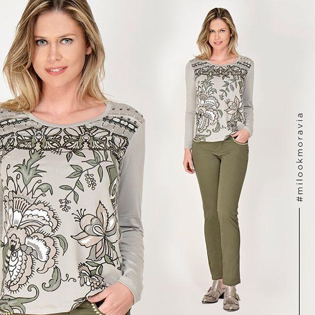 remeras casual estampada Moravia Jeans invierno 2019