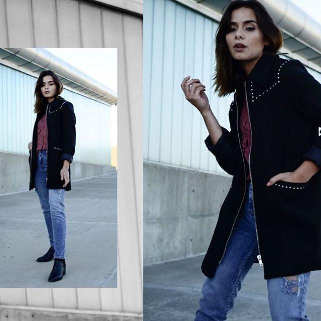 saco con cierre mujer AG store invierno 2019