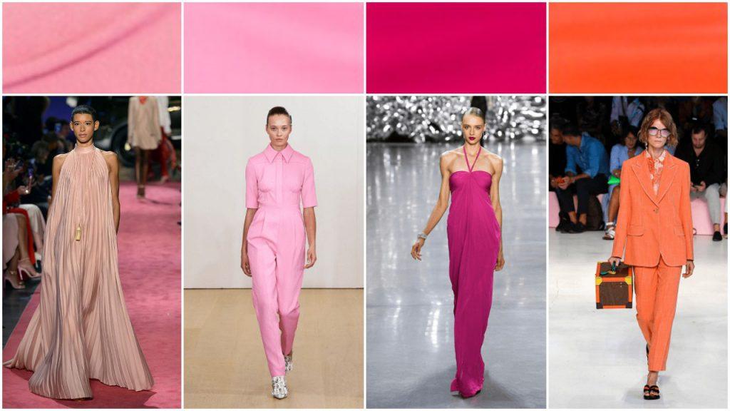 tonos rosas Colores de moda verano 2020 Argentina