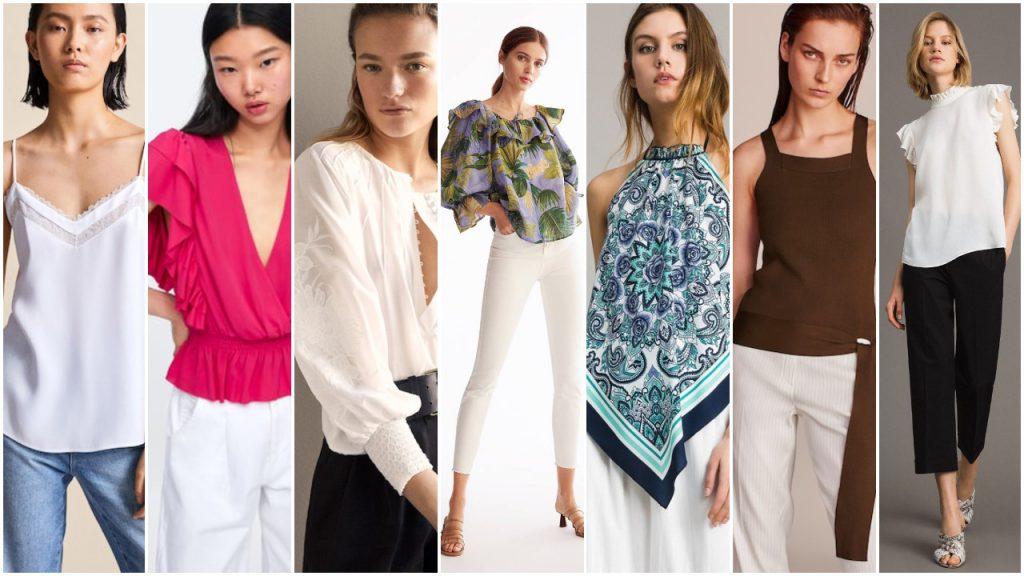 Blusas de moda verano 2020 Tendencias argentina