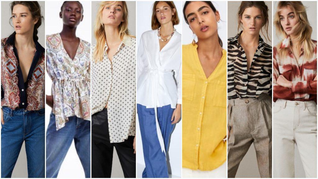 Camisas de moda verano 2020 Tendencias argentina