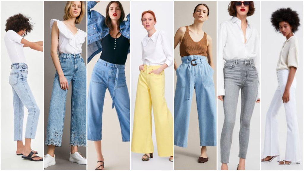 Jeans de moda verano 2020 Tendencias argentina