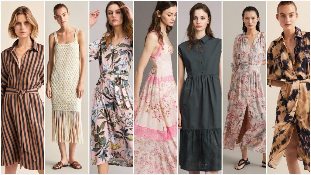 Vestidos para el dia de moda verano 2020 Tendencias argentina