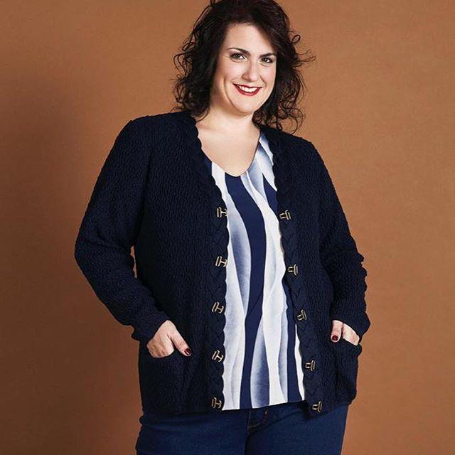 blusas estampadas talles grandes mujer Loren invierno 2019