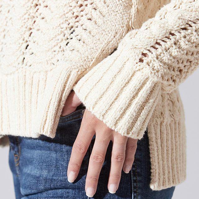 buzo de lana calado India Style invierno 2019