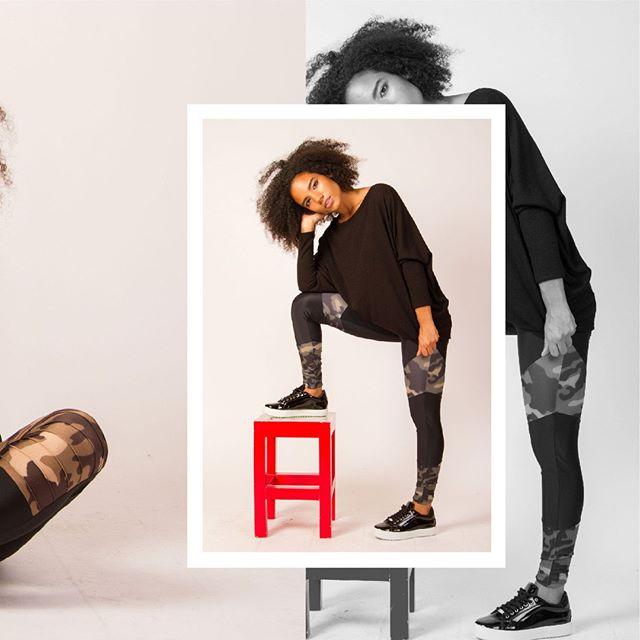 calza camuflada Benka invierno 2019