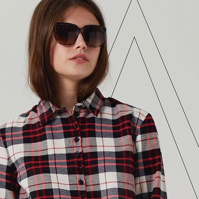 camisa a cuadros Abstracta invierno 2019