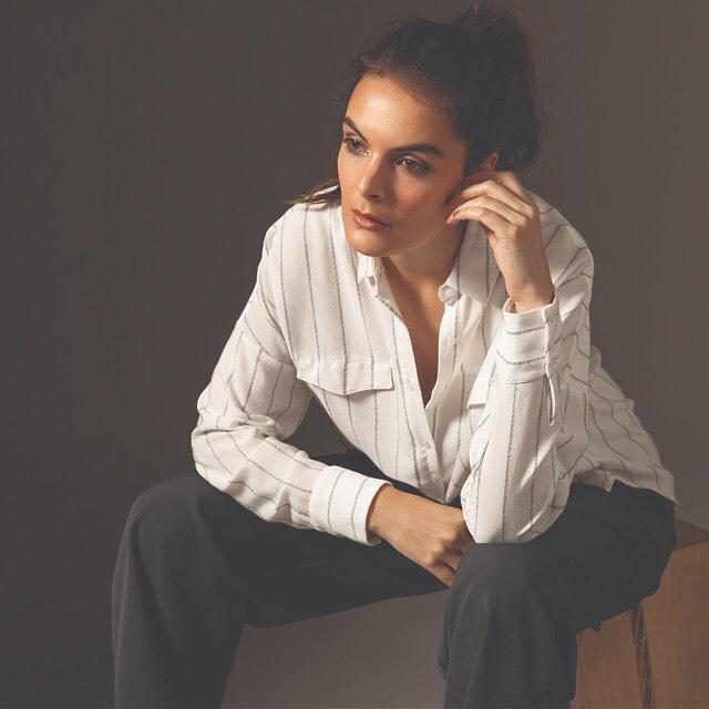 camisa a rayas mujer legacy mujer invierno 2019