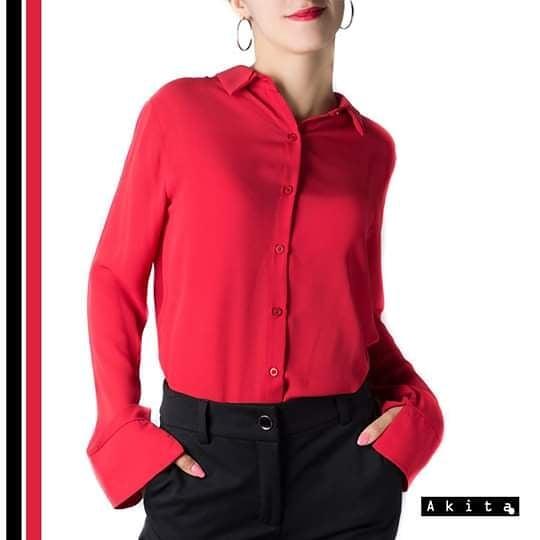 camisa mujer juvenil Akita invierno 2019