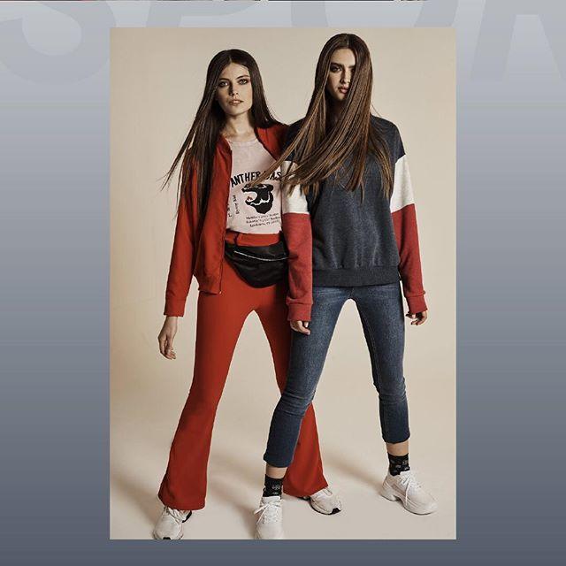 look con jeans y buzo o campera de algodon juvenil inversa invierno 2019