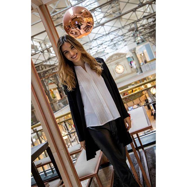 look urbano con pantalon de cuero Benjamina invierno 2019 1