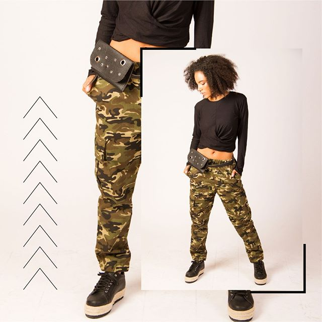 pantalon cargo camuflado juvenil mujer Benka invierno 2019