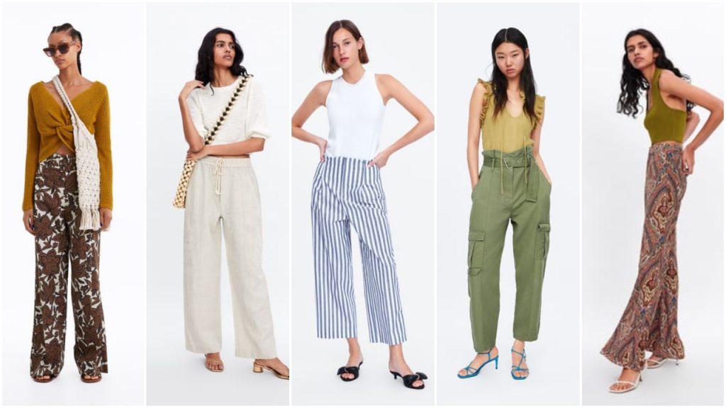 pantalones de moda verano 2020 Tendencias argentina