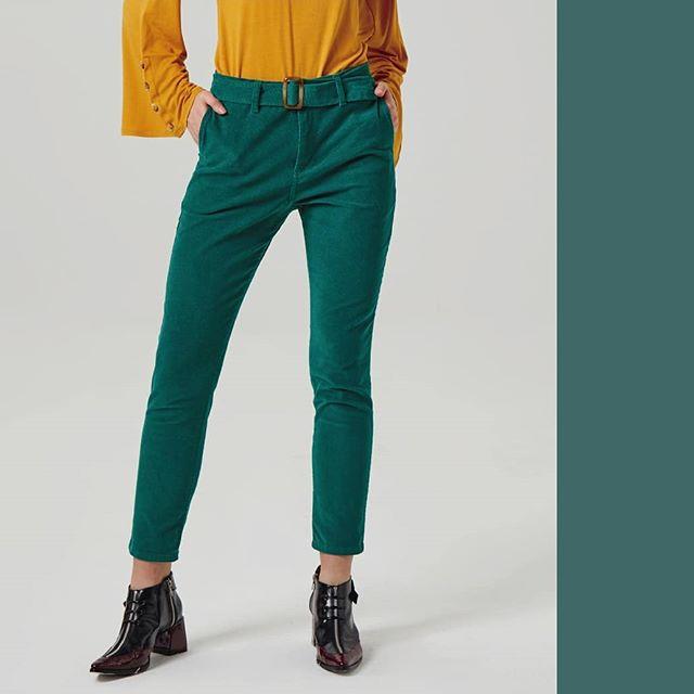 pantalones gamuzados Abstracta invierno 2019