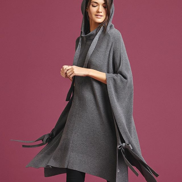 ponchos tejidos para mujer Paula Cahen D Anvers invierno 2019