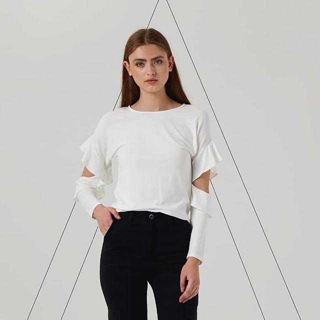 remera mangas largas mujer Abstracta invierno 2019