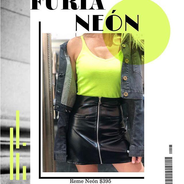 remeras neon mujer juvenil Alma Jeans invierno 2019