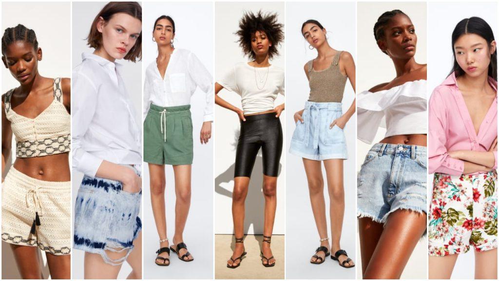 shorts y bermudas de moda verano 2020 Tendencias argentina