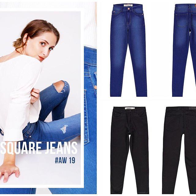 square jeans invierno 2019