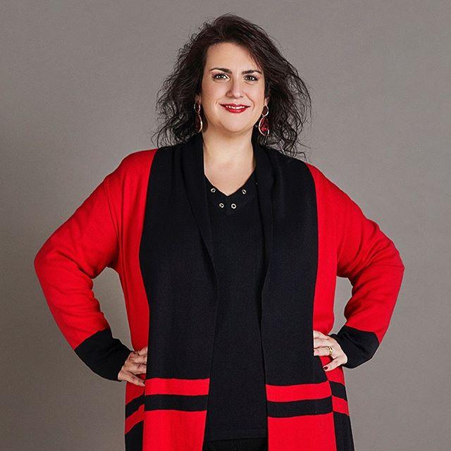 tejidos en talles reales mujer Loren invierno 2019
